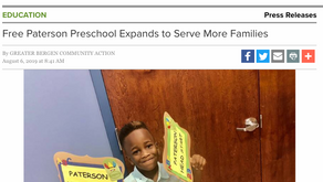 Free Paterson Preschool Expands to Serve More Families