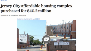 Jersey City Affordable Housing complex Purchased