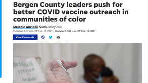 Bergen County Leaders Push for Better COVID Vaccine Outreach in Communities of Color