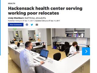 Hackensack Health Center Serving Working Poor Relocates