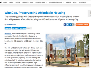 WinnCos. Preserves NJ Affordable Housing