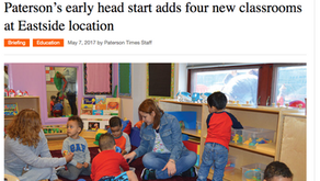 Paterson's Early Head Start Adds Four New Classrooms at Eastside Location