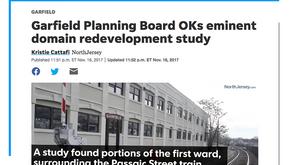 Garfield Planning Board OKs eminent domain redevelopment study
