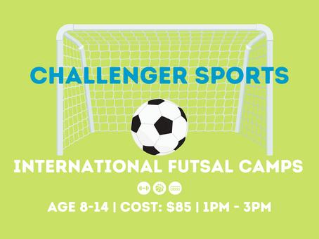 Challenger Sports International Futsal Camps