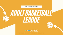 Adult Basketball League - Indoors