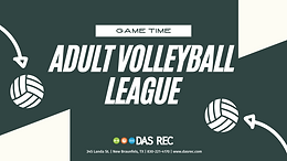 Adult Volleyball League - Indoors (Co-ed)
