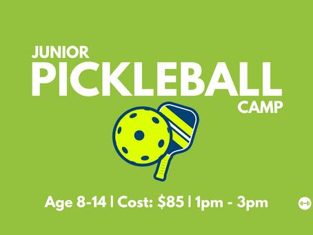 Junior Pickleball Camp