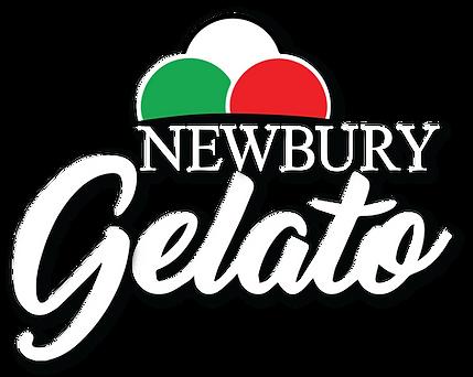 Newbury Gelato-white border white text L
