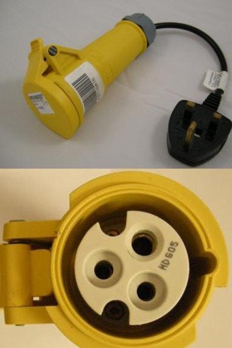 Test Adaptor for 110V 16Amp Appliances