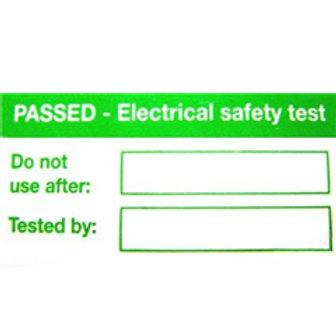 PAT Testing Labels - Pack of 1,000