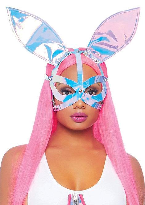 Leg Avenue - Holographic Bunny Ear Mask