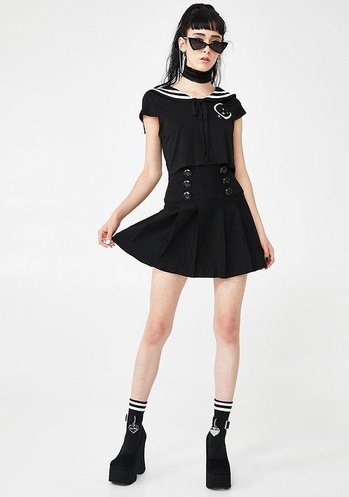 Killstar - Tsukiko Pleated Skirt