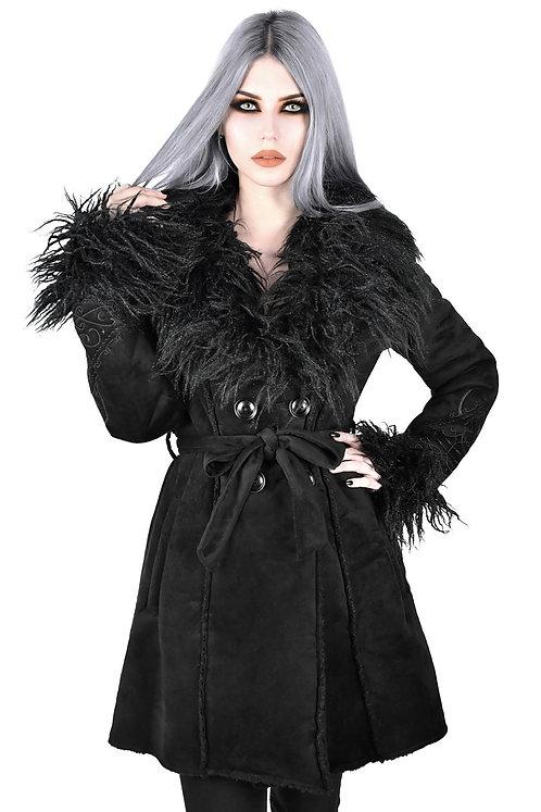 Killstar - Shearling Coat