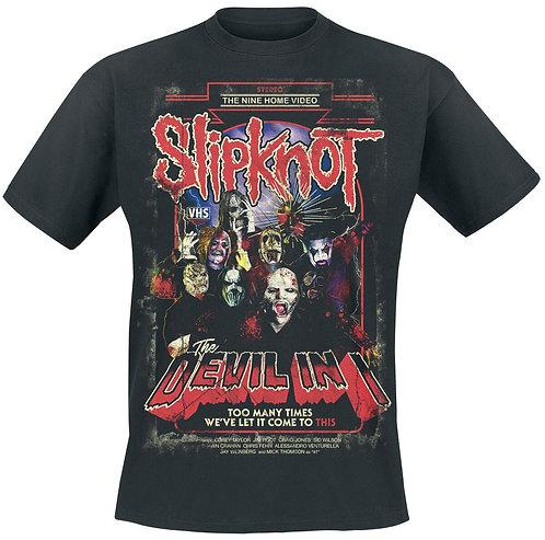Music Band T-shirt-Slipknot/Devilln