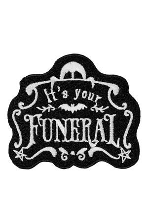 Killstar- Funeral Patch