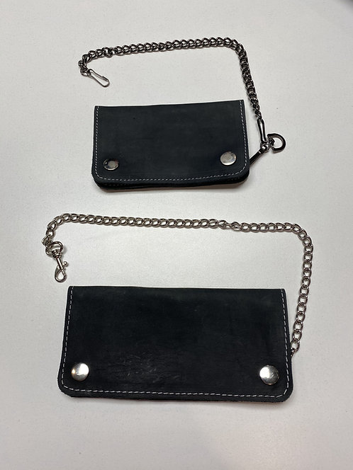 Leather Chain Wallets