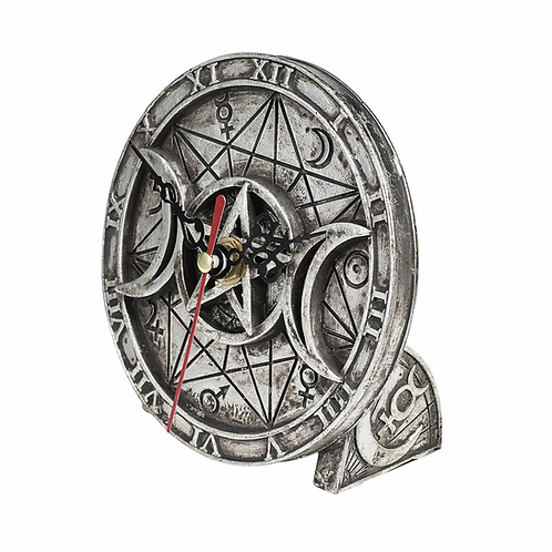 Alchemy of England - Wiccan Desk Clock