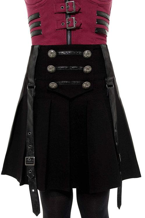Killstar - Dark Academy Mini Skirt