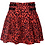 Thumbnail: Jawbreaker - Red Leopard Pencil Skirt