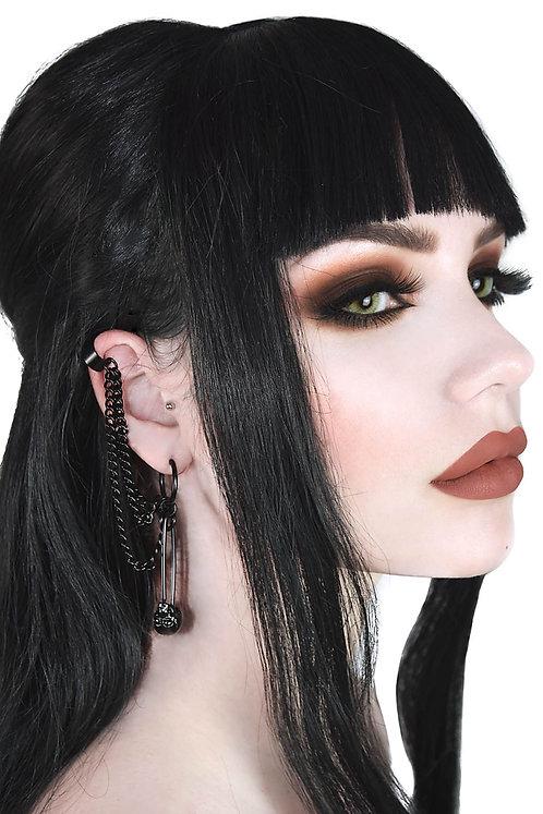 Killstar-Noir Earrings