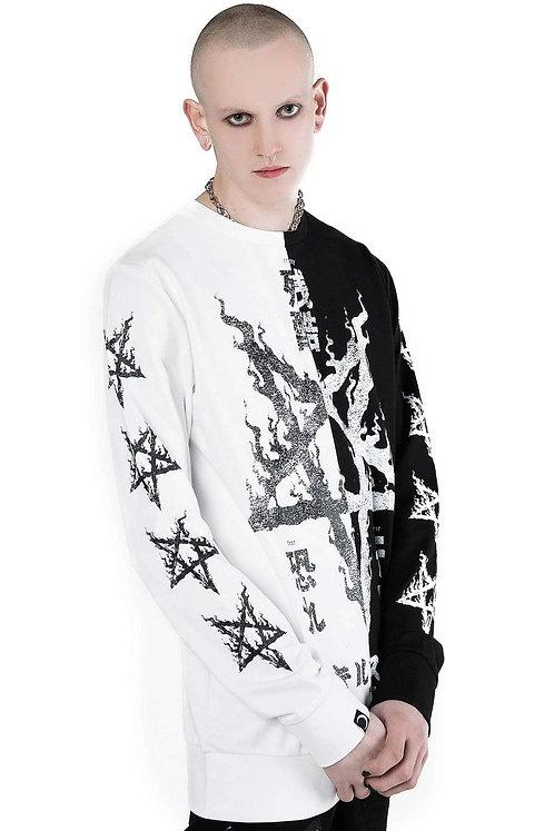 Killstar-Night Terror Split Sweatshirt