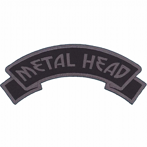 Kreepsville666-Metal Head patch