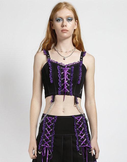 Tripp NYC - Lolita Corset Top ( Purple) )