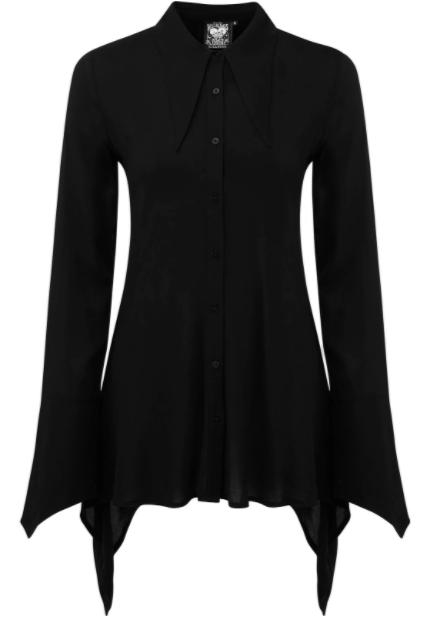 Killstar - Chiffon Button-Up Shirt
