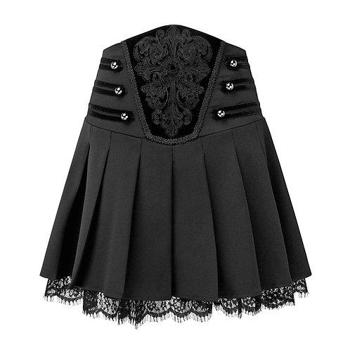 Killstar - Abbey Pleated Skirt