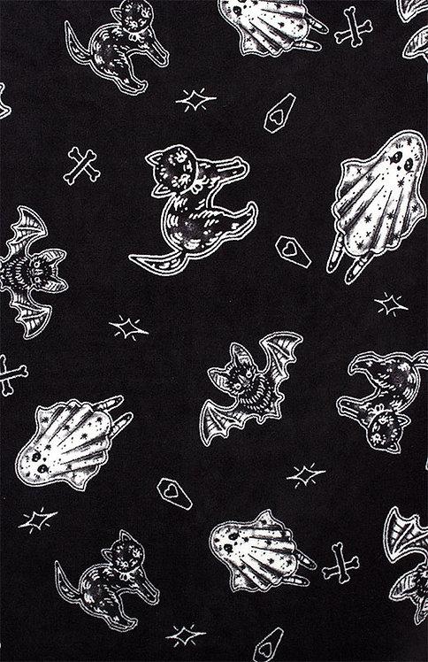Sourpuss-Spooky Throw Blanket