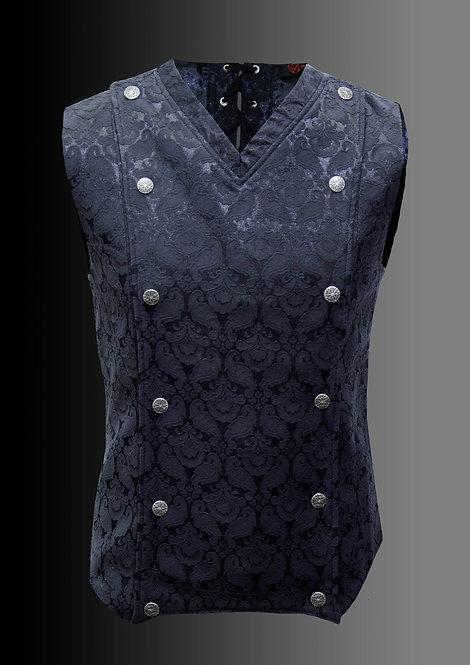 Pentagramme-Military Black Vest
