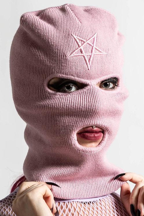 Killstar - Her Highness Ski Mask Pastel Pink