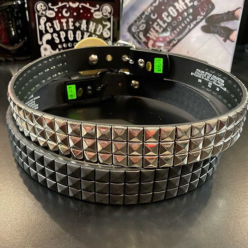 Metal Studded Belt (black/silver)