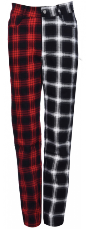 Jawbreaker - Bicolour Tartan Pants