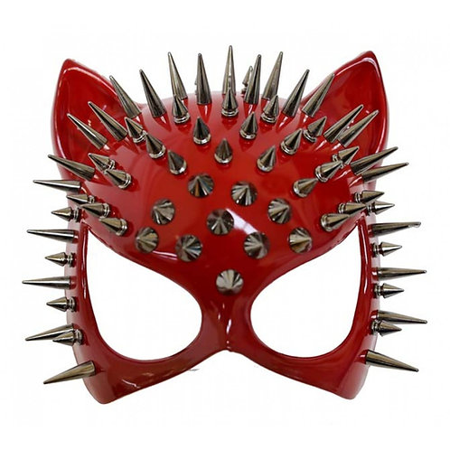 KBW-Red Cat Spike Mask