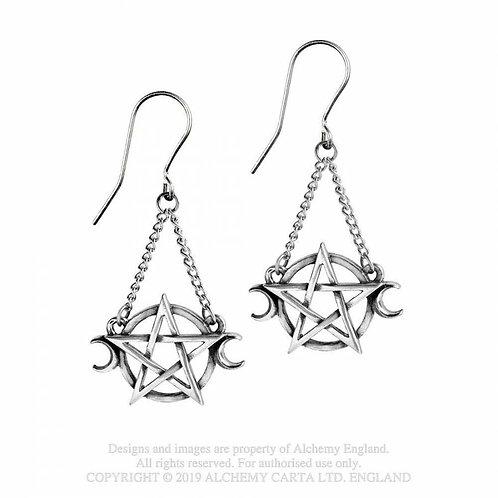 Alchemy of England - Goddess Dropper Earrings