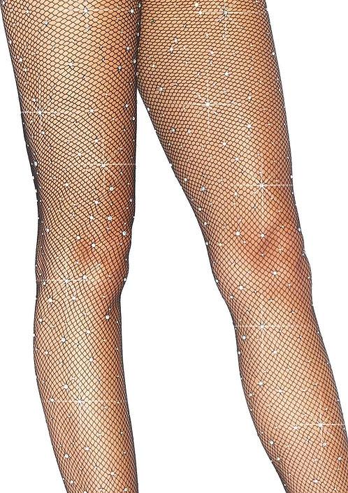 Leg Avenue - Crystalized Fishnet Tights