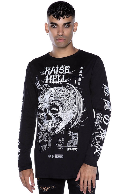Killstar-Raise Hell Long Sleeve Top