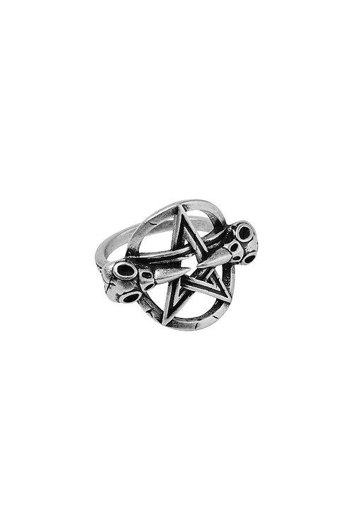 Killstar- Prey Ring (Silver)