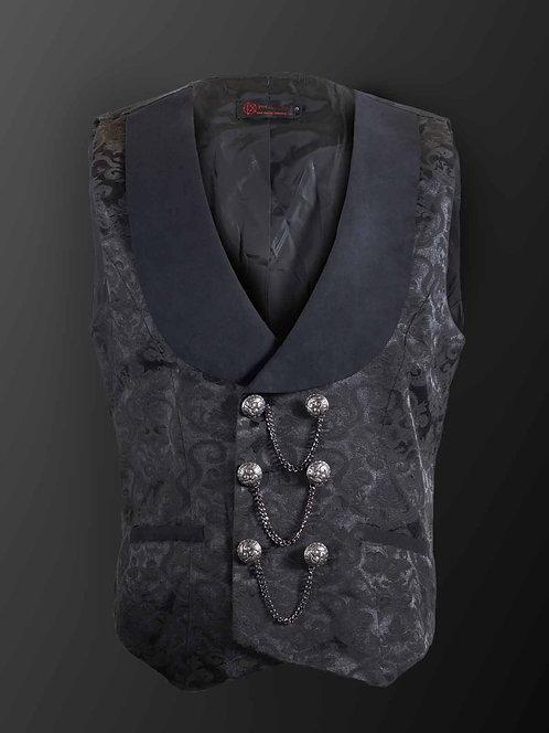 Pentagramme-Black &Grey Vest