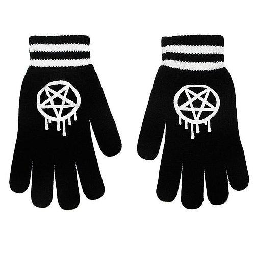 Rat Baby - Pentagram Gloves
