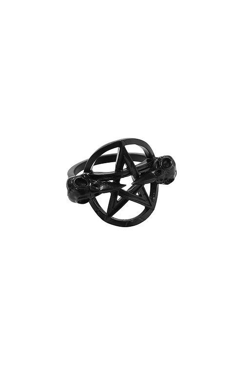 Killstar- Prey Ring (Black)