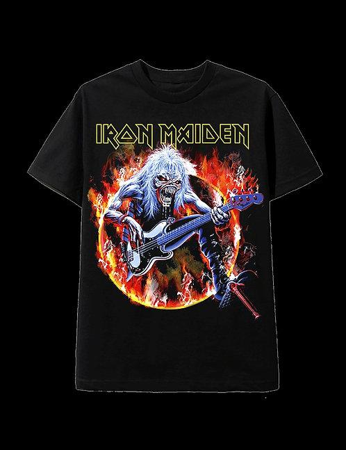 Music Band T-shirt-Iron Maiden