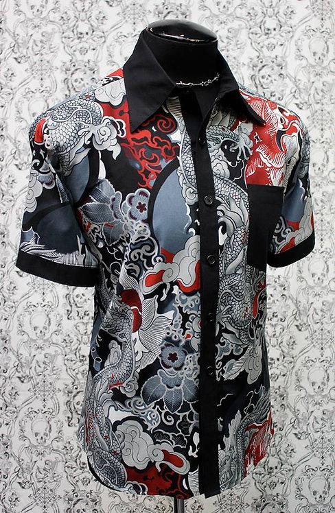 Shrine - Men's Japanese Dragon Shirt