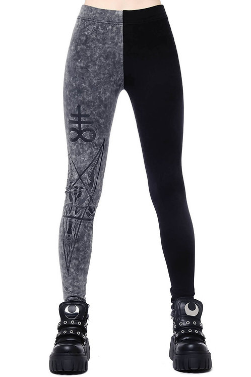 Two-Faced Witch Leggings