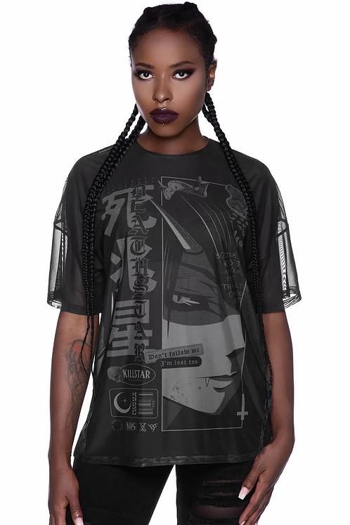 Killstar- Deathstar Mesh B/F T-Shirt