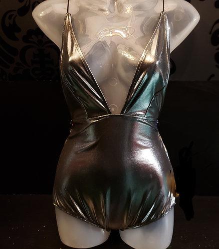 Beardance-Metallic Bodysuit