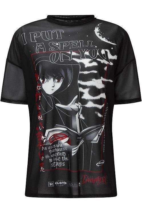 Killstar- Spell Mesh B/F T-Shirt