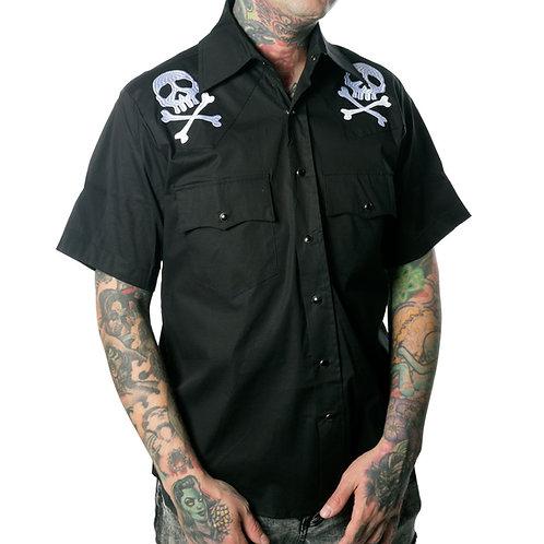Kreepsville666-Men's Western Shirt