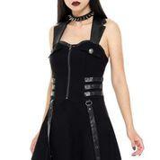 Killstar-Psy-Ops Halter Dress